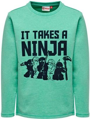 Lego Wear Boy's Lego Ninjago Sebastian 301-SWEATSHIRT Sweatshirt