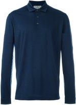 Canali longsleeved polo shirt - men - Virgin Wool - 50