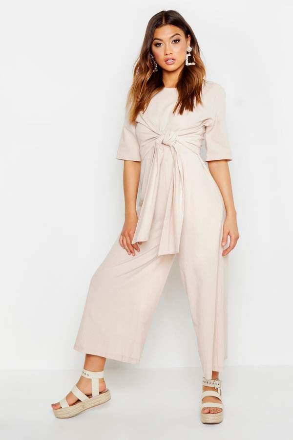 e89f9123a122 Womens Stone Linen Trousers - ShopStyle UK