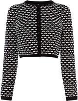 Karen Millen Monochrome Knit Cardigan