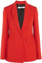 Givenchy Blazer In Red Grain De Poudre Wool