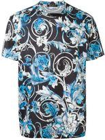 Versace watercolour baroque print T-shirt - men - Cotton - L