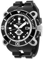 Zodiac Oceanaire ZO8532 Stainless Steel & Rubber Quartz 47mm Mens Watch