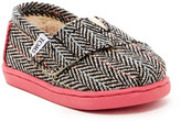 Toms Herringbone Wool Faux Shearling Slip-On (Baby, Toddler, & Little Kid)