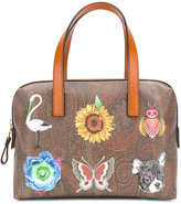 Etro Inside Out tote - women - Leather - One Size