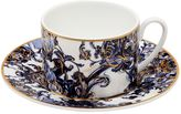 Roberto Cavalli Azulejos Set Of 6 Tea Cups & Saucers