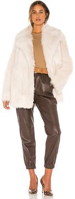 Theory Toscanca Fur Coat