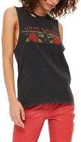 Topshop Women's By And Finally Guns & Roses Slash Tank