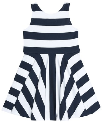 Polo Ralph Lauren Striped jersey dress