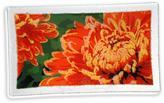 "Peggy Karr Glass Chrysanthemum 10"""