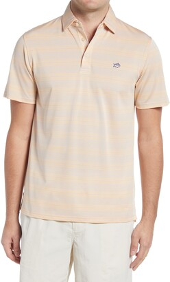Southern Tide Roster Calero Regular Fit Stripe Performance Polo