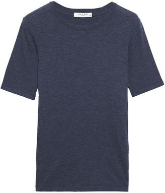 Rag & Bone Ribbed Cotton And Modal-blend Jersey T-shirt