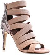 Donald J Pliner Women's ARLEN - Crepe Elastic Heeled Sandal