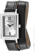 Stuhrling Original Women's 810.SET.01 Audrey Paris Watch Set with Interchangeable Leather Straps