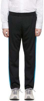 South2 West8 Black Trainer Lounge Pants