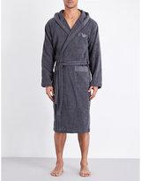 Emporio Armani Hooded Terry-cotton Robe