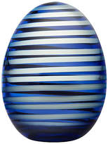 "Iittala 5"" Annual Egg 2018 Accent - Blue/White"