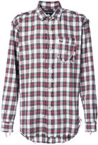 Mastermind Japan checked shirt