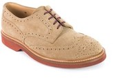 Brunello Cucinelli Men's Brown Suede Lace Up Brogues.
