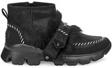 Fluff Punk UGGPure Lamb Fur Suede Ankle Boots