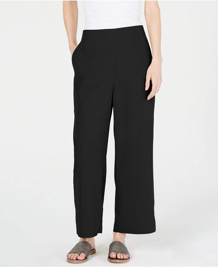 4960ff5d0f9e31 Eileen Fisher Women's Wide Leg Pants - ShopStyle