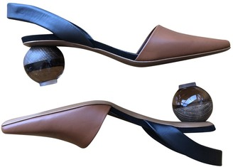 Neous Brown Leather Sandals