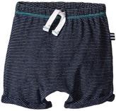 Splendid Littles Indigo Striped Jogger Shorts (Infant)