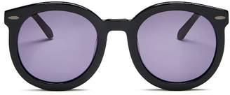 Karen Walker Women's Super Duper Round Sunglasses, 53mm