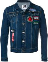 Les Hommes Urban denim jacketbutton
