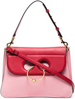 J.W.Anderson Pink Pierce Medium Leather Shoulder Bag