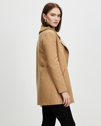 David Lawrence Women's Coats - Nina Felted Wool Coat - Size One Size, 14 at The Iconic