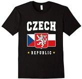 CZECH Republic T-shirt Ceska Coat of Arms Narodak Lion