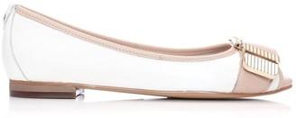 Moda In Pelle Freyla White-Nude Leather