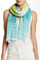 David & Young Ombre Crinkle Oblong Scarf