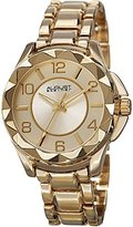 August Steiner Women's AS8159YG Yellow Gold Quartz Watch with Yellow Gold Dial and Yellow Gold Bracelet