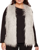 Alyx Sleeveless Faux-Fur Vest - Plus