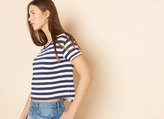 Garage Stripe Boxy Tee