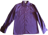 Celine Purple Cotton Top