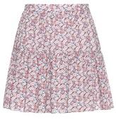 Saint Laurent Printed Miniskirt
