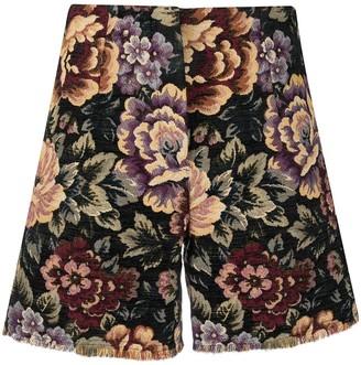 L'Autre Chose Floral Shorts