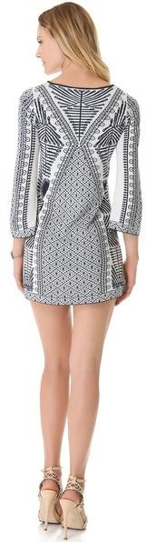 BCBGMAXAZRIA Megan Mini Dress