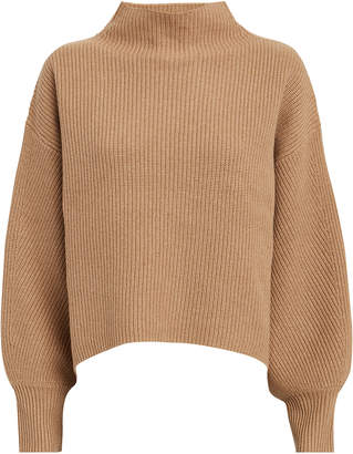 A.L.C. Helena Wool-Cashmere Ribbed Sweater