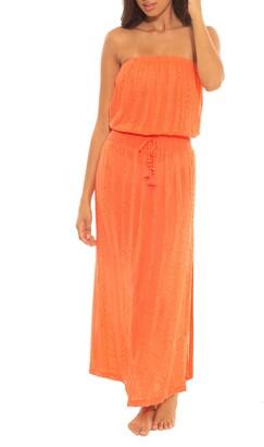 Soluna Goa Smocked Cover-Up Dress