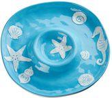 Global Amici Coastal Bright Chip N Dip Platter