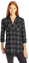 Fox Racing Women's Deny Ls Flannel Hoody