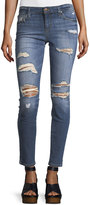 Joe's Jeans Distressed Rolled Skinny Jeans