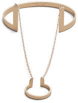 Kenneth Cole Rose Goldtone Hand Chain Cuff