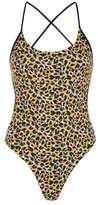 Leopard print swimsuit