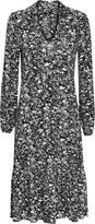 Wallis Monochrome Paisley Tiered Midi Dress