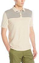 Nautica Men's Engineered Chest-Stripe Polo Shirt